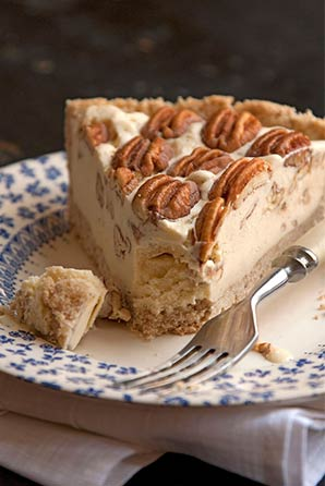 Pecan Pie Ice Cream Pie